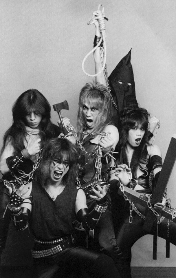 Crowley Japanese Heavy Metal In The 1980s Zero Equals Two
