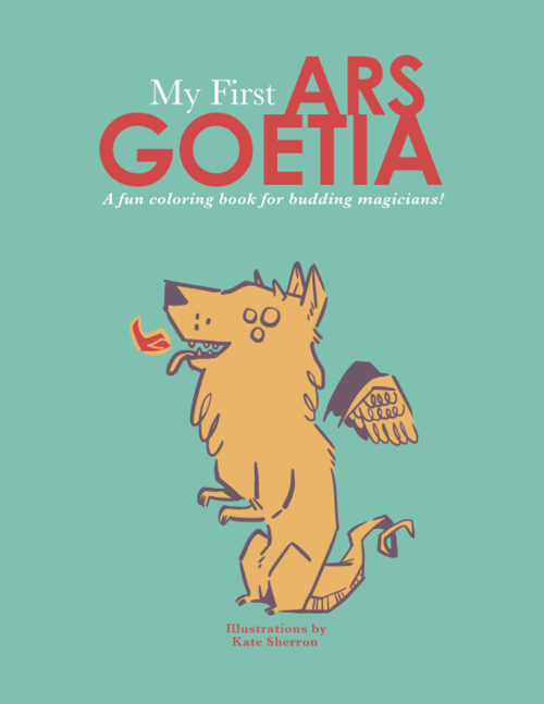 MY FIRST ARS GOETIA COLORING BOOK – Zero Equals Two!