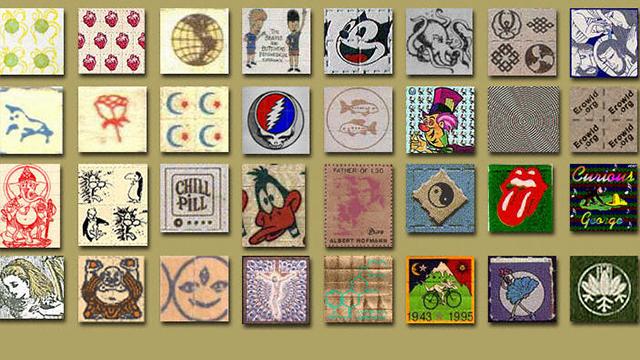 LSD Blotter Tabs