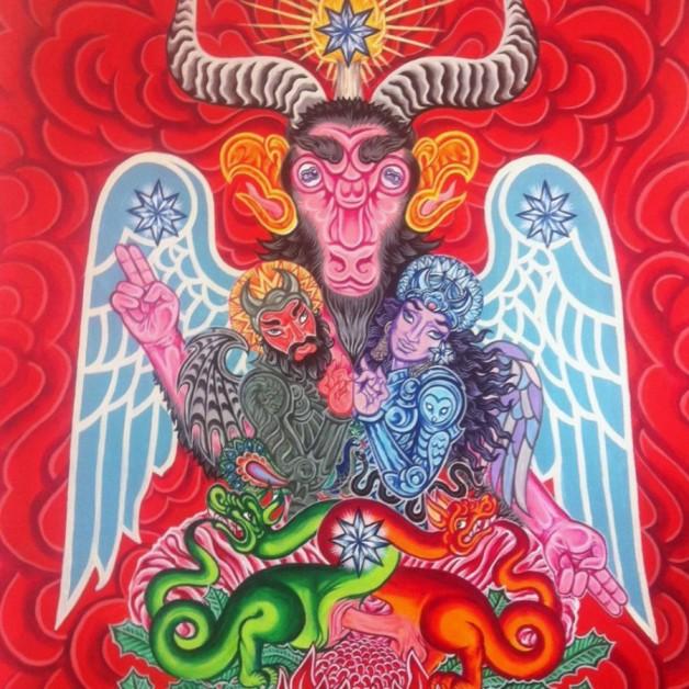 "iam Hale "" BAPHOMET - Rex Mundi "" 2015"