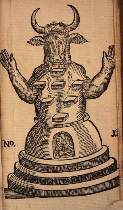 Illustration from Curiositez inouyes, hoc est, Curiositates inauditae de figuris Persarum ... - Michael Jacques Gaffarel 1676