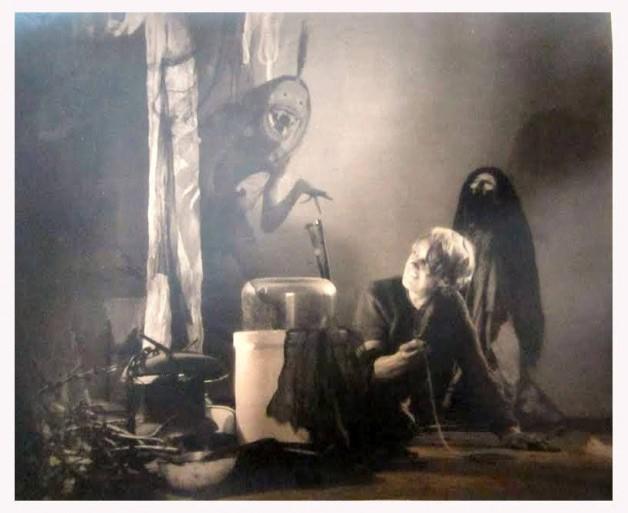 "William Mortensen ""Incubus"" 1926 photograph — at Stephen Romano Gallery."