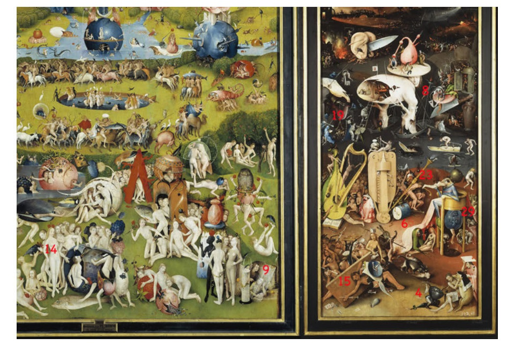 Interactive Tour Of The Garden Of Earthly Delights Zero Equals Two