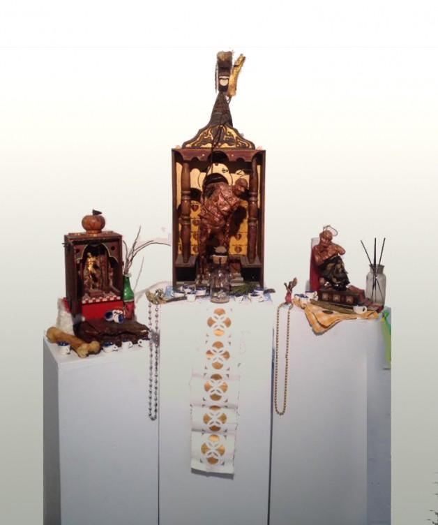"""Nyugen Smith """"Altar V.3"""" 2016"""