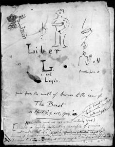 Liber AL cover