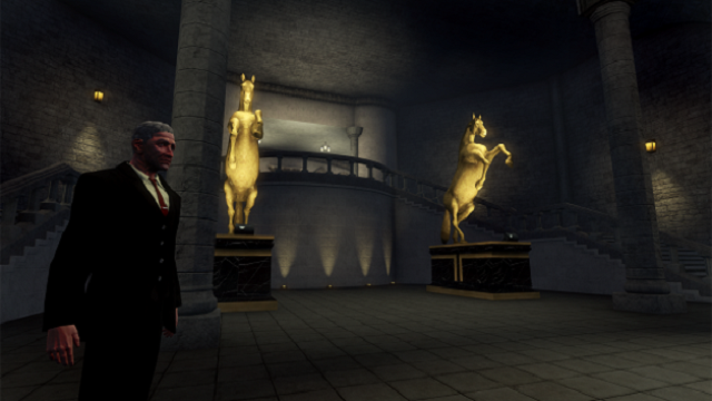 screen shot from the museum of the occult