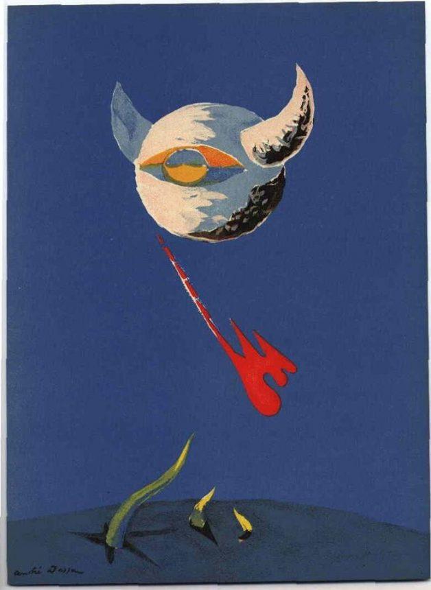 André Masson 'La Lune'