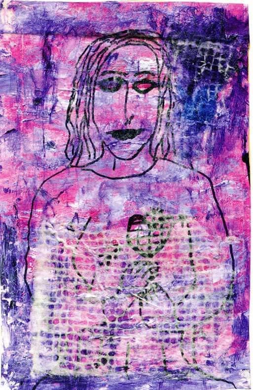 """Michael Bertiaux """"Erzulie-la-mere-tristesse-la-deesse-triste"""" 2009"""