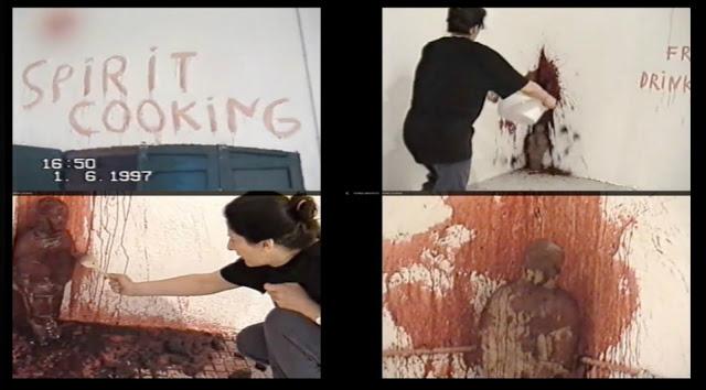 """Сатанизм или искусство? Скандально известная художница Марина Абрамович и её """"спиритические"""" ужины"""