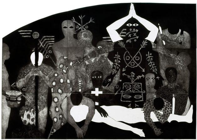 belkis Ayón nlloro {weeping}, 1991
