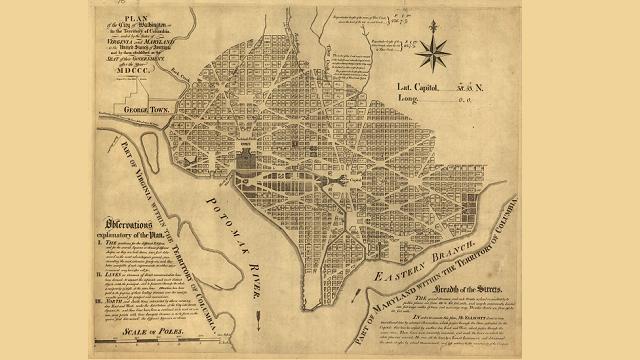 L'Enfant's plan for Washington, DC