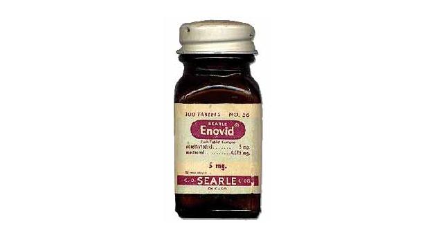 Enovid 10, an early contraceptive pill
