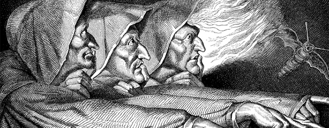 the three Macbeth witches