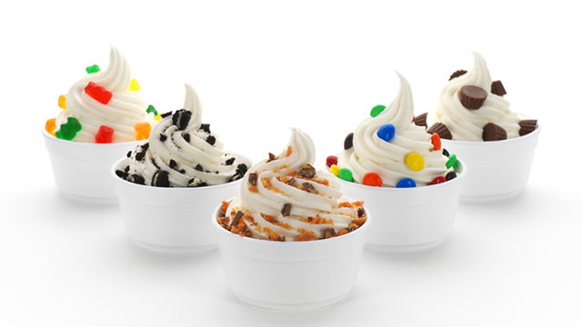 Varieties of frozen yogurt