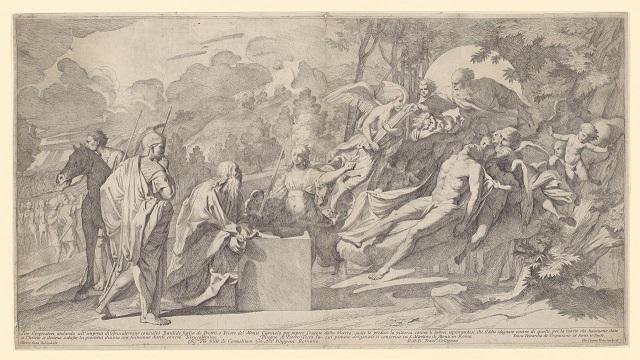 Titus rescuing Basilides