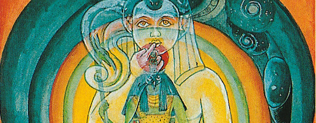 Image from the Aeon Thoth Tarot Card