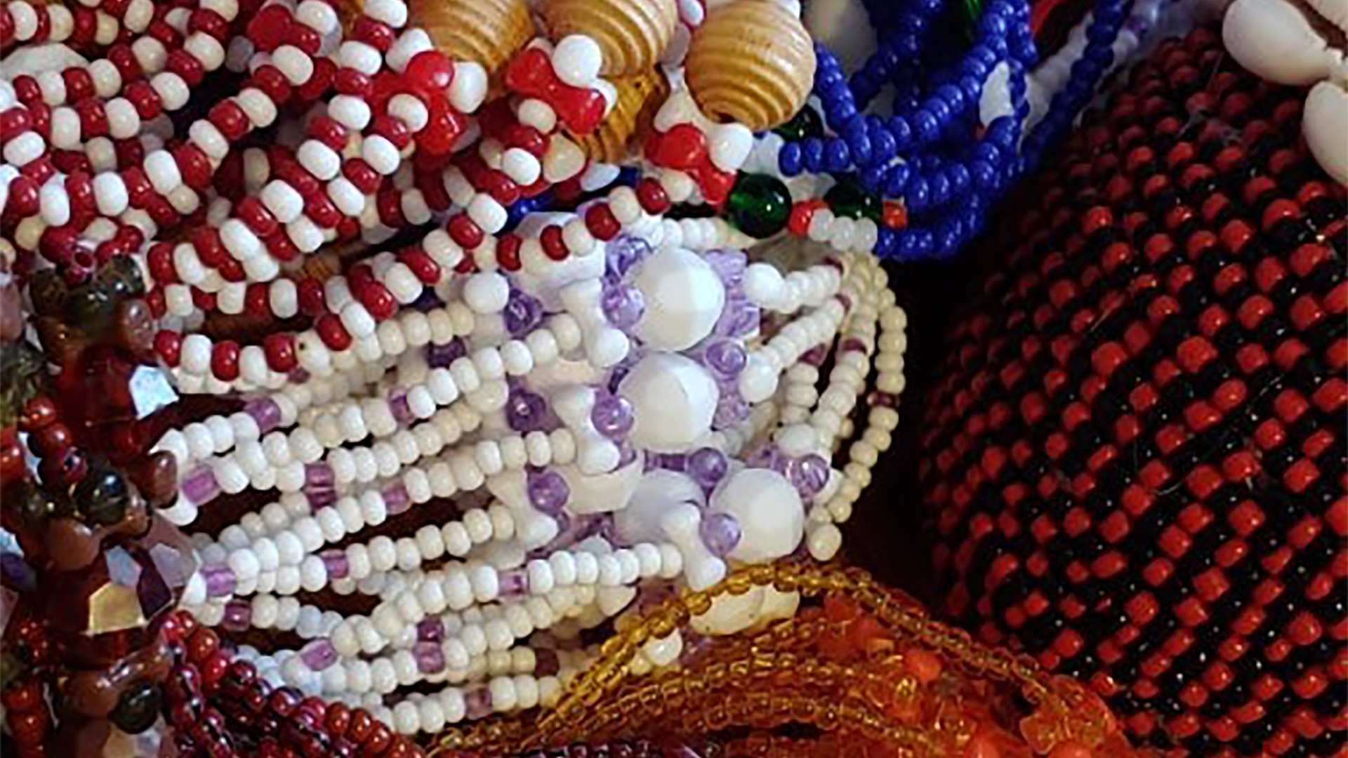 Ceremonial beads
